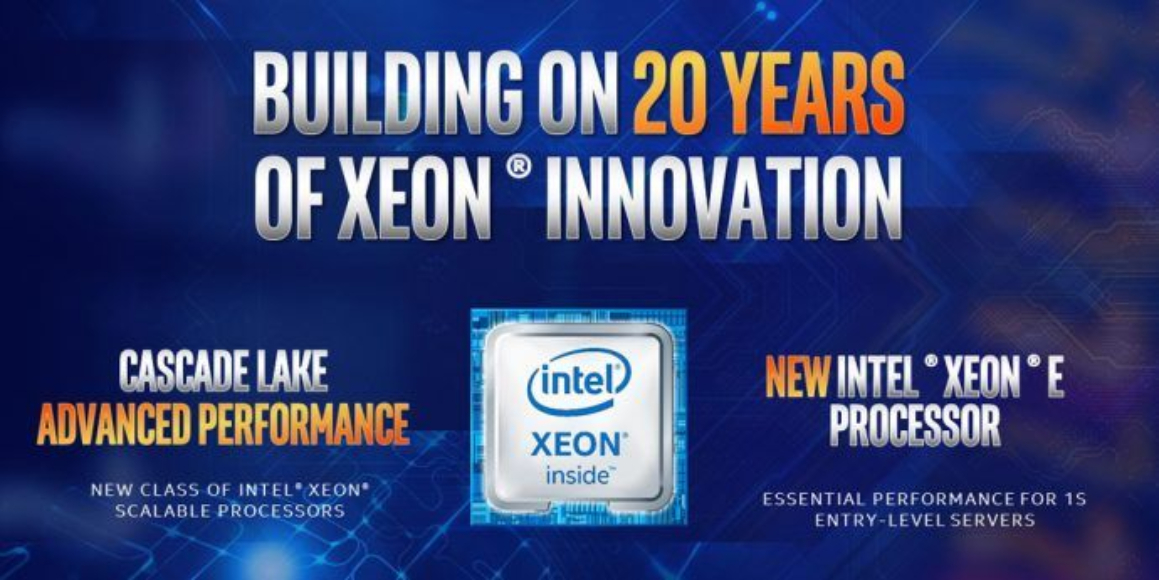 Intel Cascade Lake y Xeon E-2100