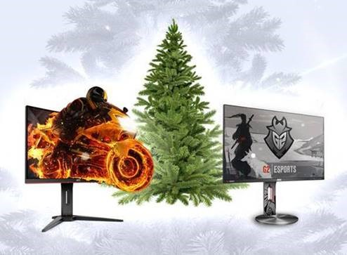 Los mejores regalos para esta Navidad: el AOC C24G1 (izquierda) y el AOC G2590PX/G2