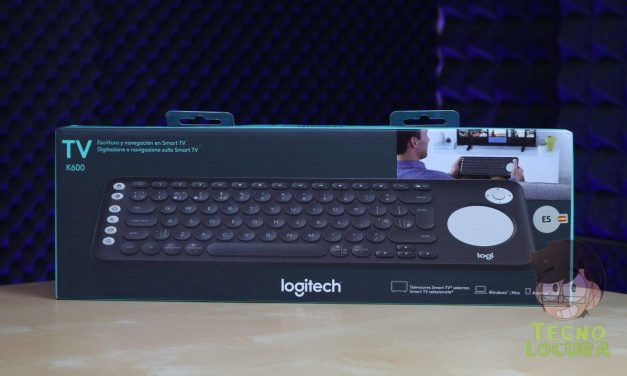 Logitech K600 TV Keyboard para nuestra SmartTV [REVIEW]
