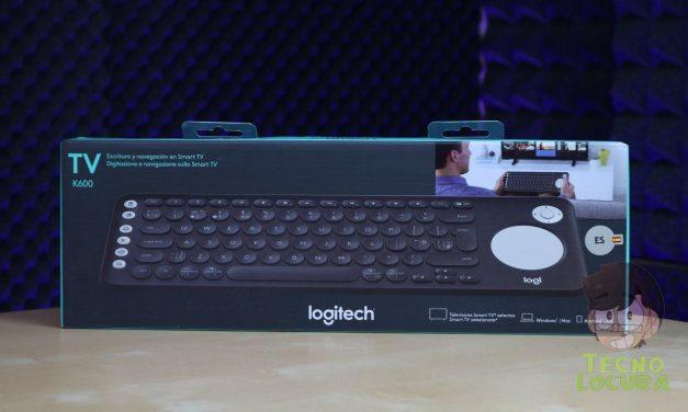 Logitech K600 TV Keyboard para nuestra SmartTV [REVIEW]