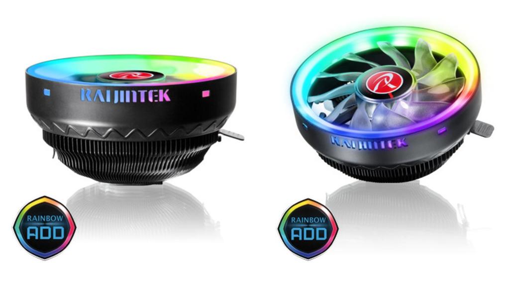Raijintek Juno Pro RBW: Cooler de bajo perfil con gran iluminación