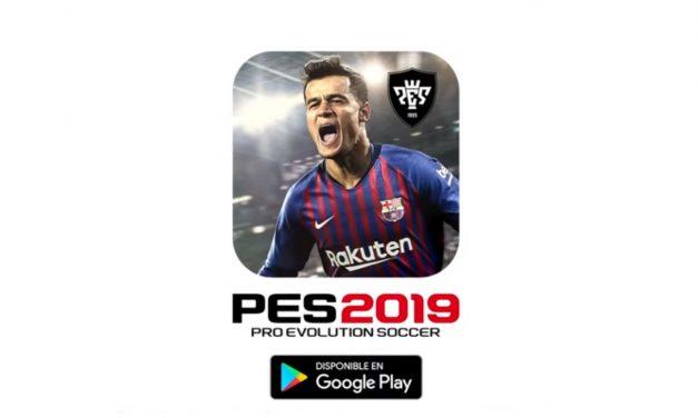 Pro Evolution Soccer 2019 llega a Android como una actualización de PES 2018
