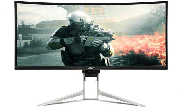 Acer Predator XR343CKP: 34″IPS, 3440×1440, FreeSync y 1 ms