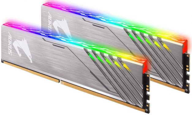 Aorus RGB Memory DDR4 sin módulos fake