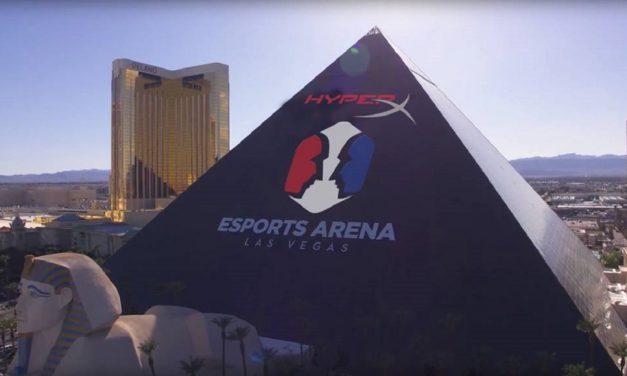 HyperX y Allied Esports presentan el HyperX Esports Arena Las Vegas