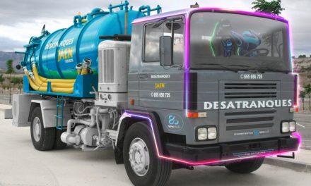 Newskill colabora con Desatranques Jaén en un camión Gaming
