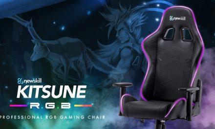Newskill Kitsune RGB, su primera silla con tecnología RGB