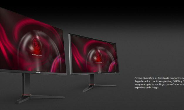 Ozone amplia su catálogo con dos monitores gaming