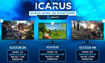 Newskill amplía su gama con monitores Gaming