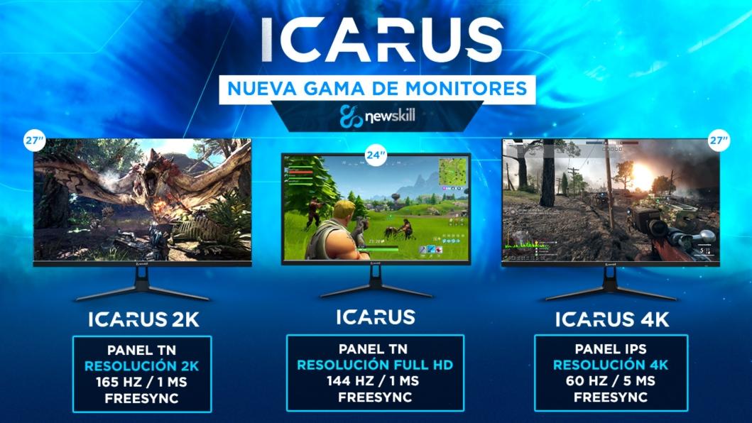 Newskill ICARUS, 2K y 4K