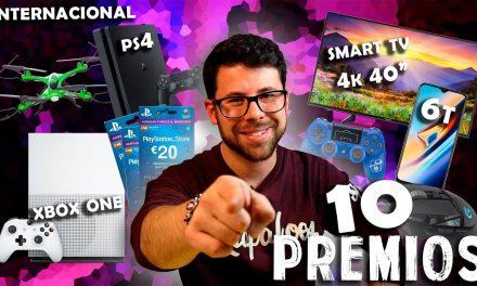 SORTEO INTERNACIONAL CON MÁS DE 3000€