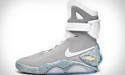 Las primeras Nike Mag que se atan solas saldrán en 2019 por 350$