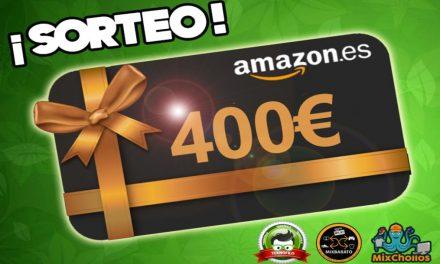 ¡Sorteo de una tarjeta regalo de 400€ de Amazon.es!