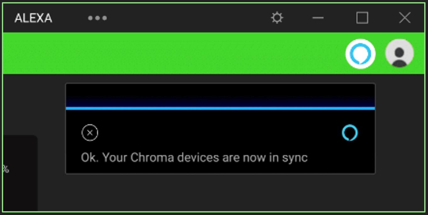 Razer Chroma y Amazon Alexa