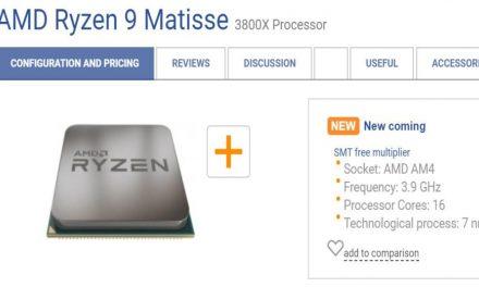 Ryzen 9 filtrado, ¿lo veremos en el CES 2019?