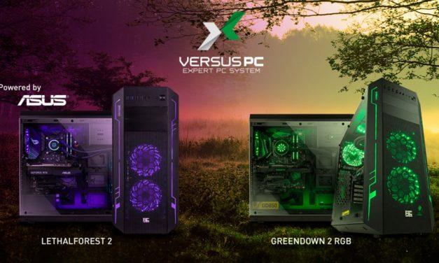 LethalForest 2 y GreenDawn 2, nuevos ordenadores Versus PC