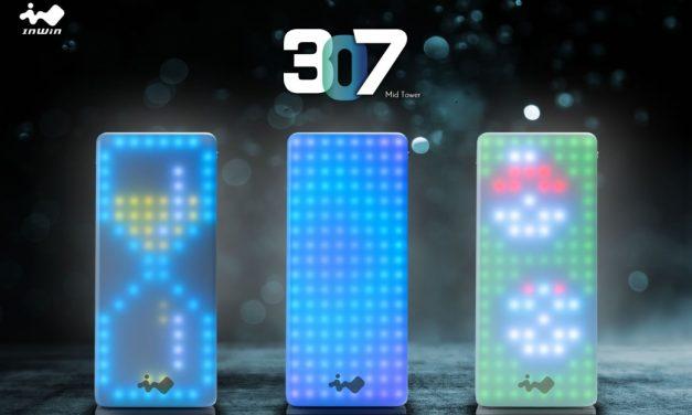 InWin 307 ATX equipada con 144 LED direccionables
