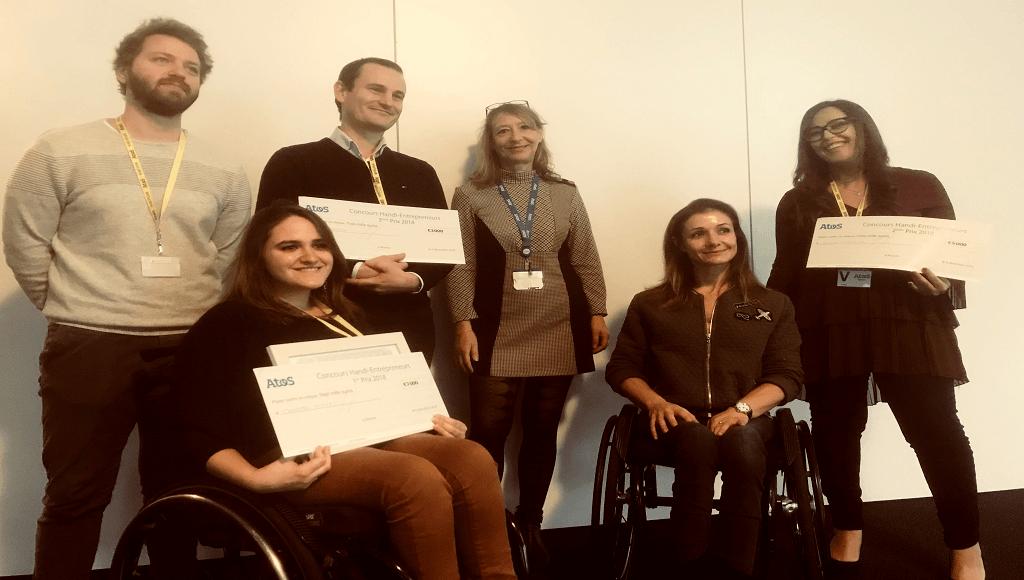 Atos da a conocer a los ganadores de la Handi-Enterpreneurs 2018