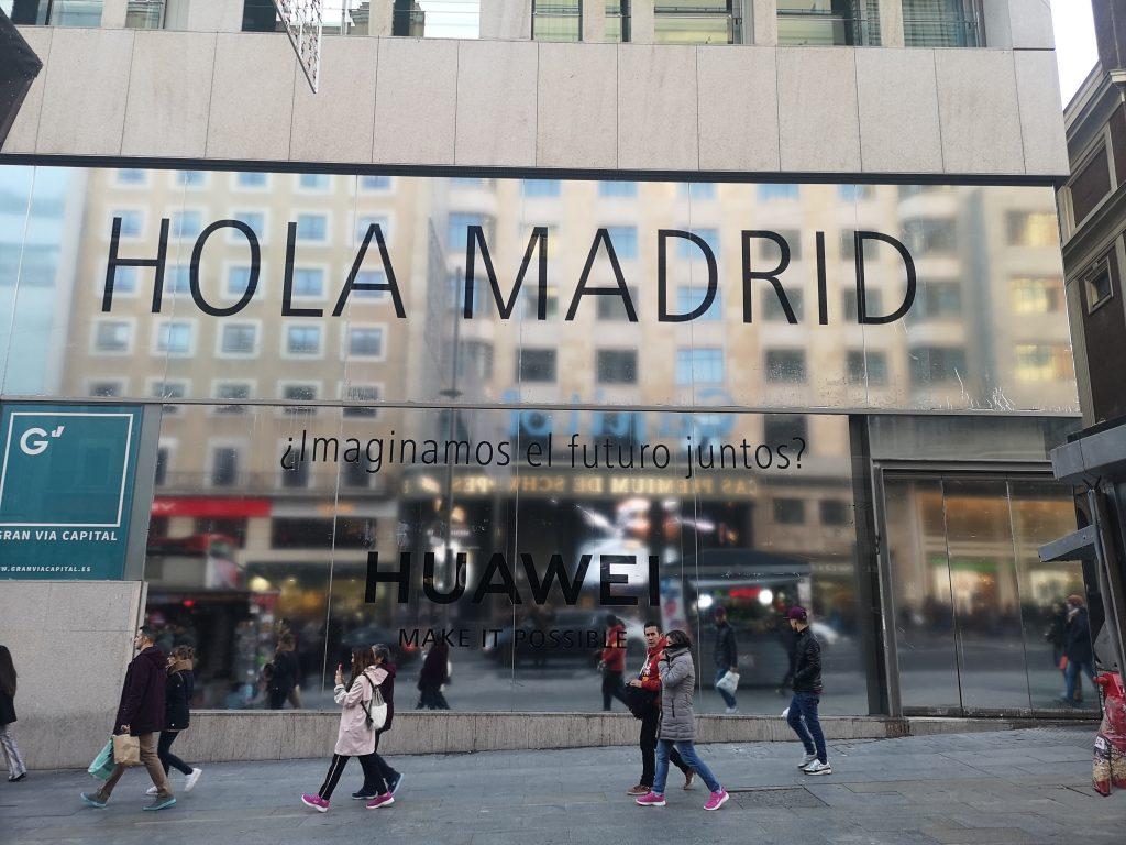 Espacios Huawei - Madrid