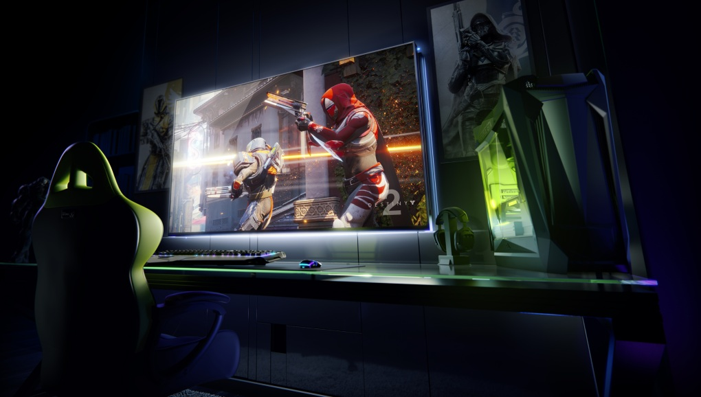 NVIDIA BIG FORMAT GAMING DISPLAYS: Pantallas gigantes gamers