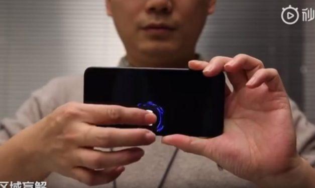 Xiaomi muestra un lector dactilar 15 veces más grande