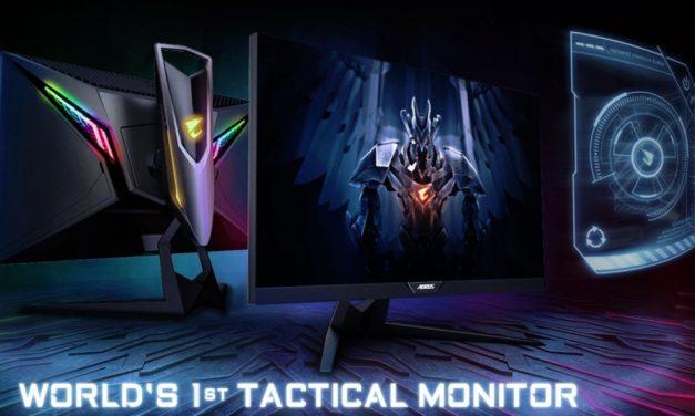 AORUS AD27QD: el primer monitor gaming táctico