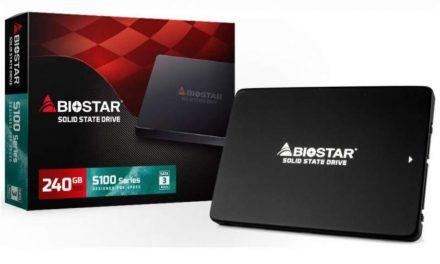 Biostar S100 Plus SSD lanzado al mercado
