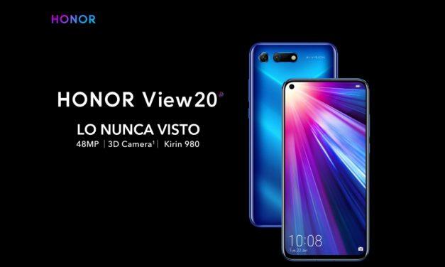 Honor View 20 llega para quedarse