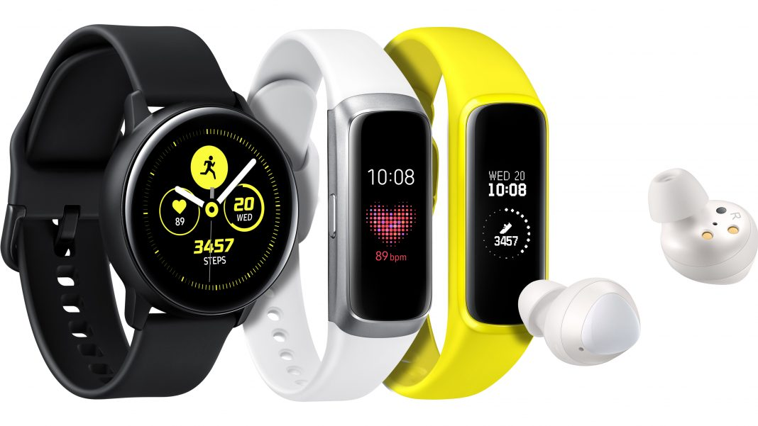 Galaxy Watch Active, Galaxy Fit y Galaxy Buds