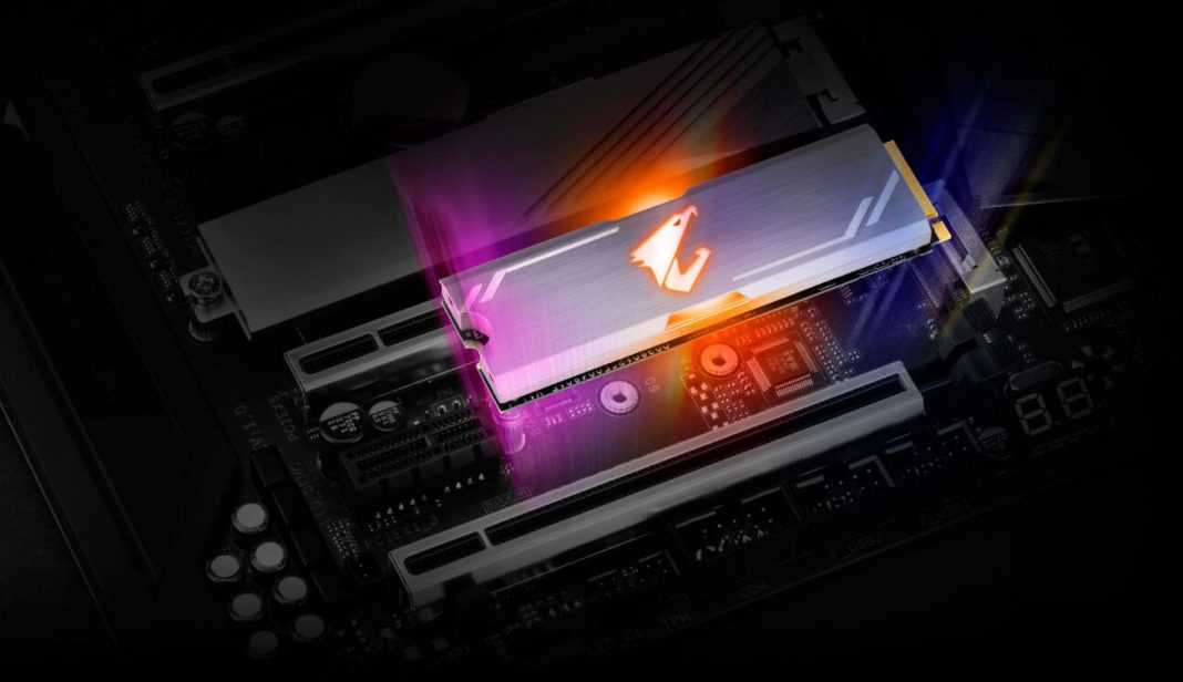 AORUS RGB M.2 NVMe SSD 512 GB