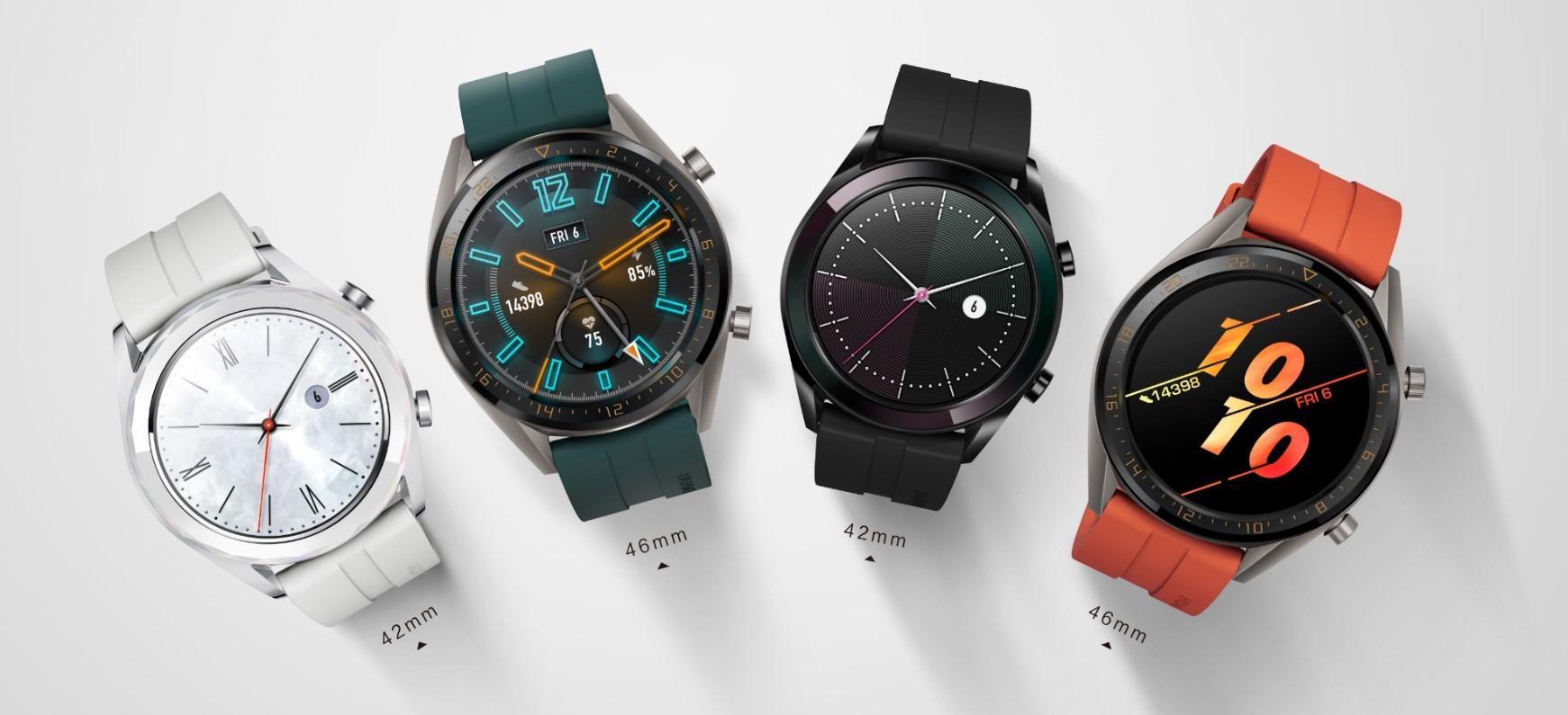 HUAWEI Watch GT: Nuevas y elegantes ediciones
