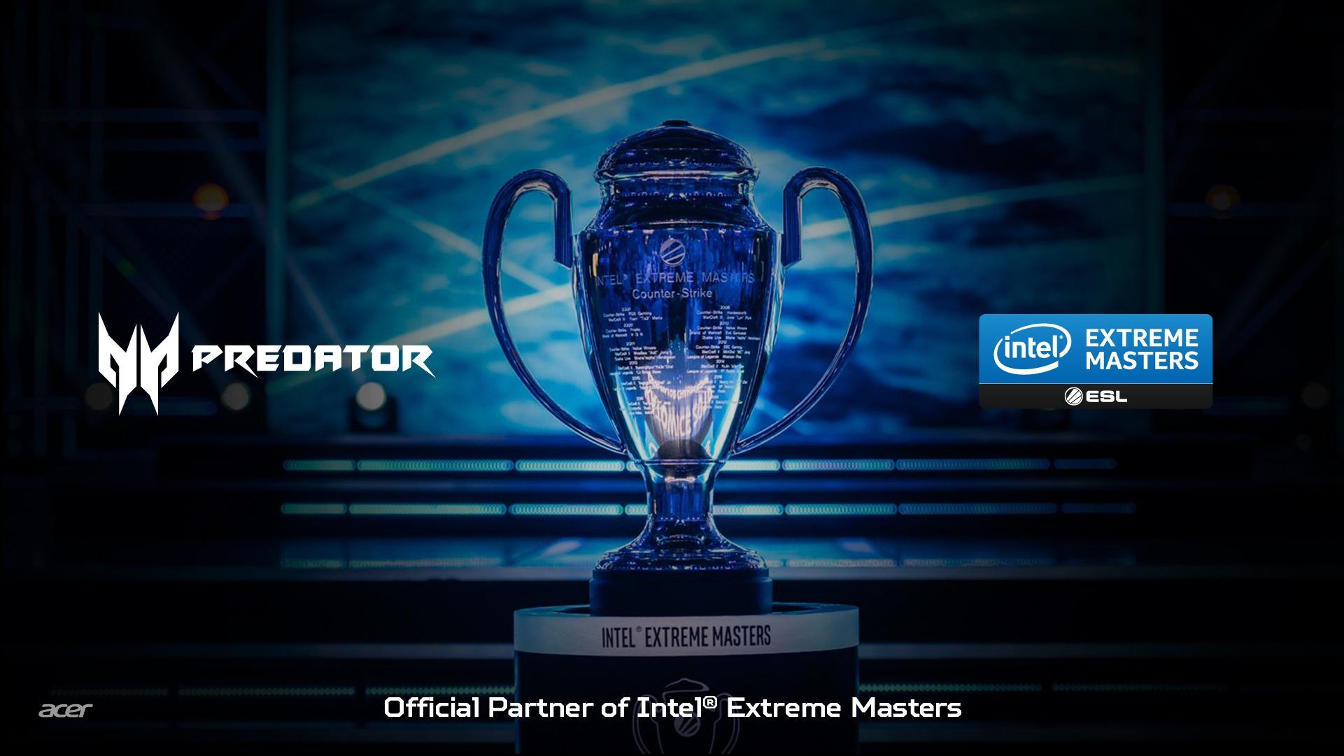 ESL renueva con Acer para Intel Extreme Masters