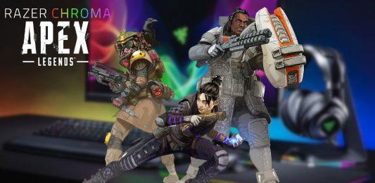 Razer Chroma integra efectos de iluminación en APEX Legends