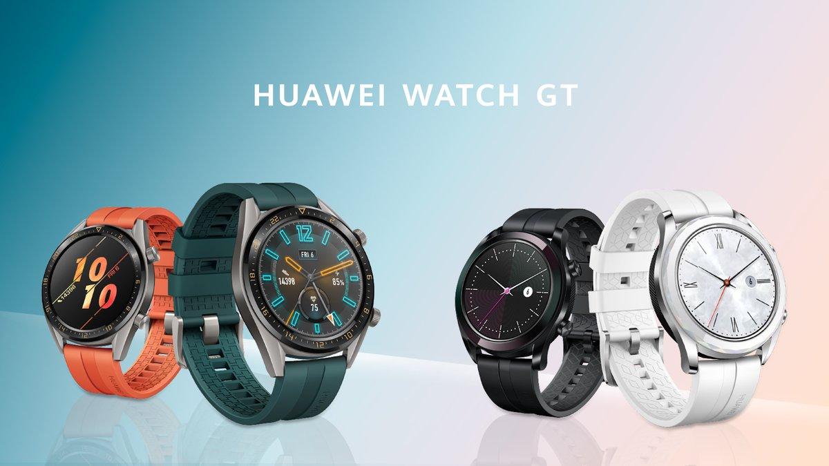 HUAWEI Watch GT: Nuevas y elegantes ediciones - HUAWEI WATCH GT vende más de dos millones de unidades