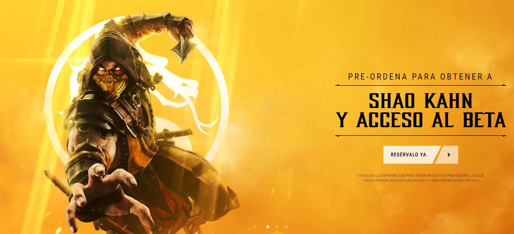 Mortal Kombat 11 Pre-order
