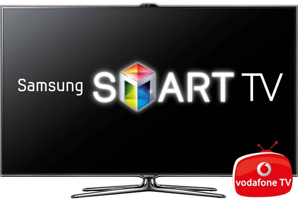 Vodafone TV llega a los Smart TV de Samsung