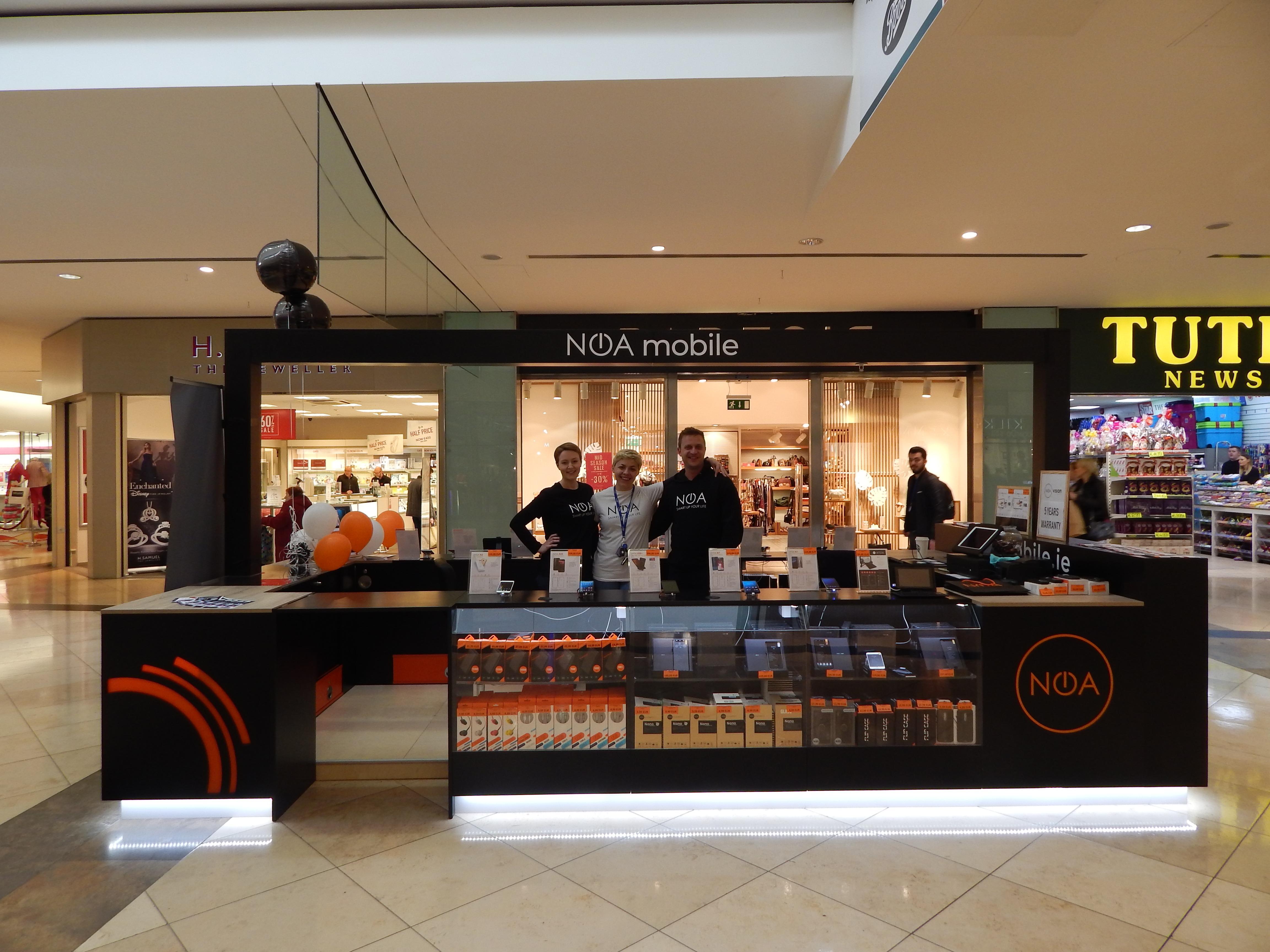 NOA abre su primera tienda en Irlanda