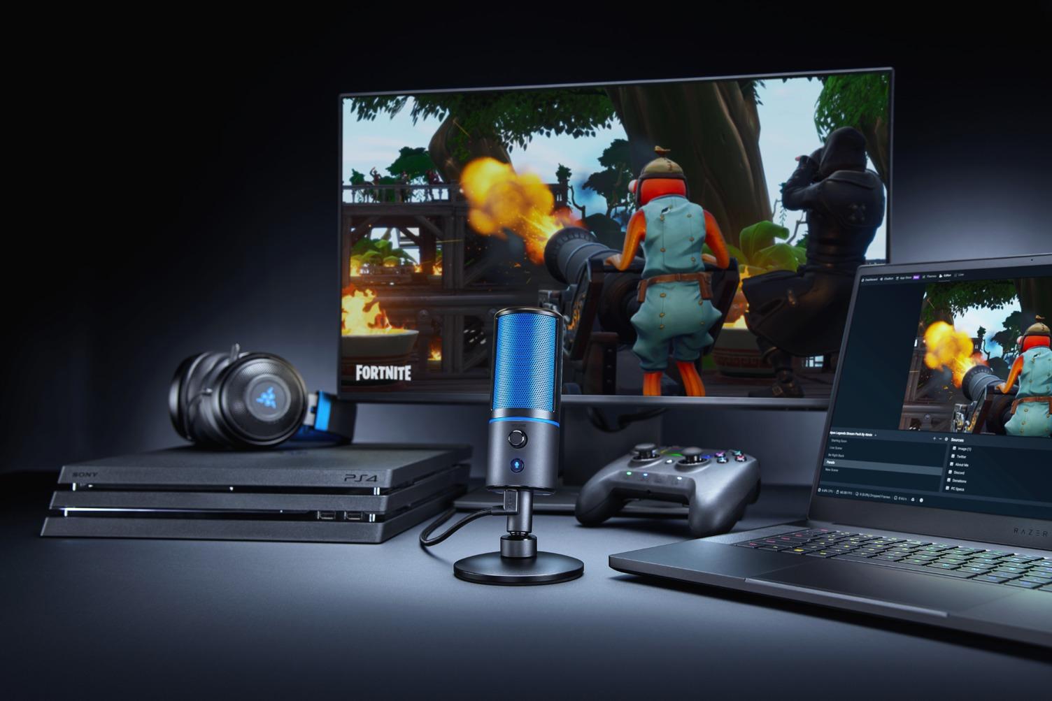 Razer Seirēn X, nuevo micrófono que llega a PS4