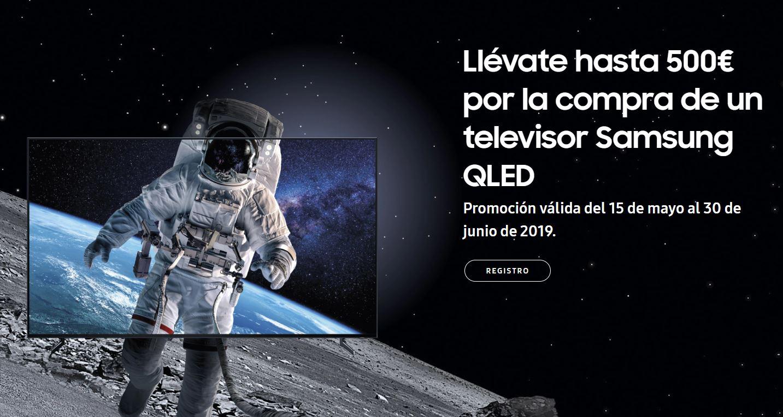 500€ de descuento en tu nuevo Samsung QLED