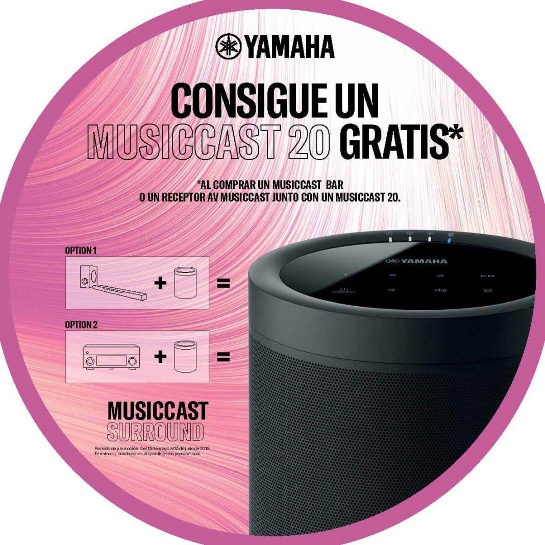 Altavoz con Alexa totalmente GRATIS: Yamaha MusicCast 20