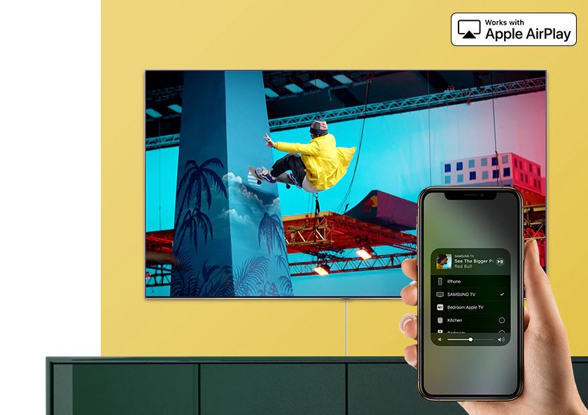 Apple TV y AirPlay 2 lanzadas en las TV de Samsung