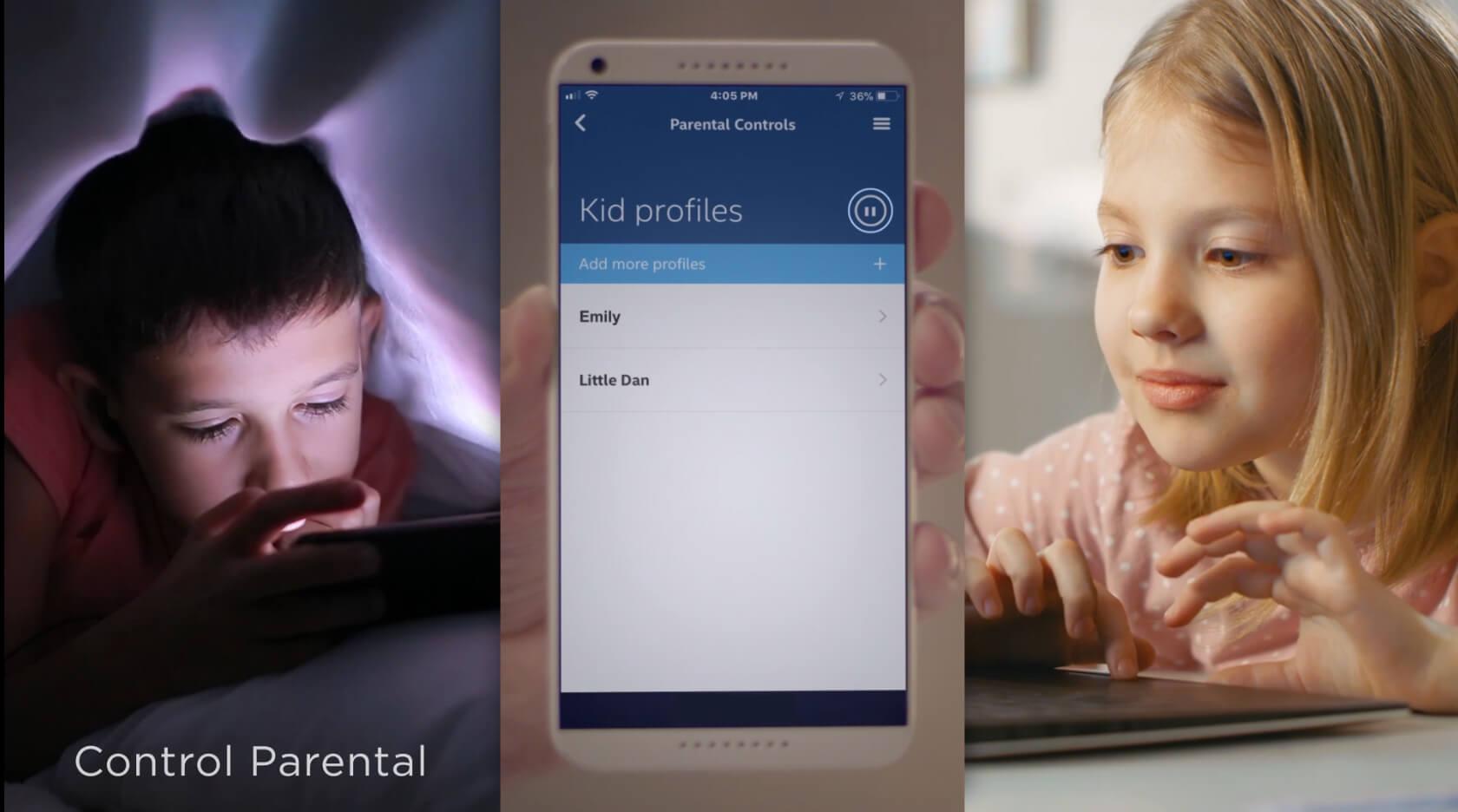 Control parental desde una app para gestionar el acceso a Internet