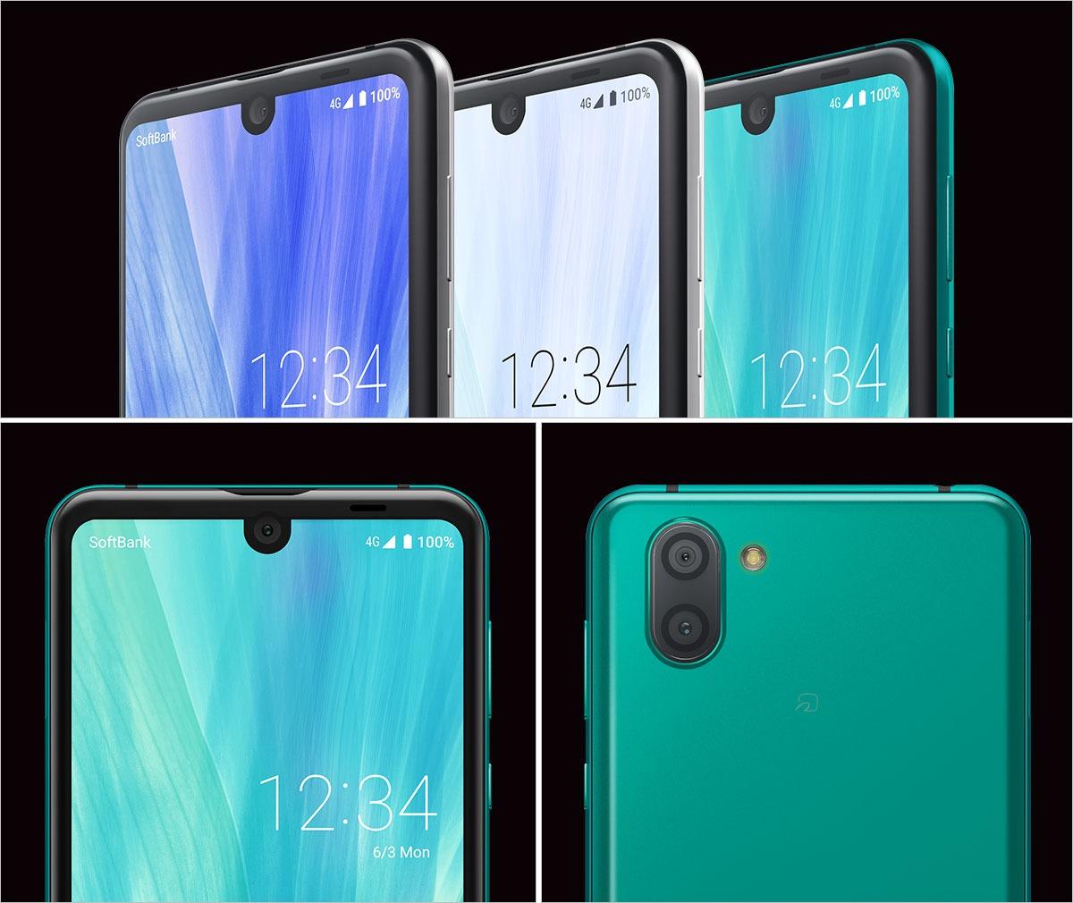 Doble notch en un smartphone: Sharp Aquos R3