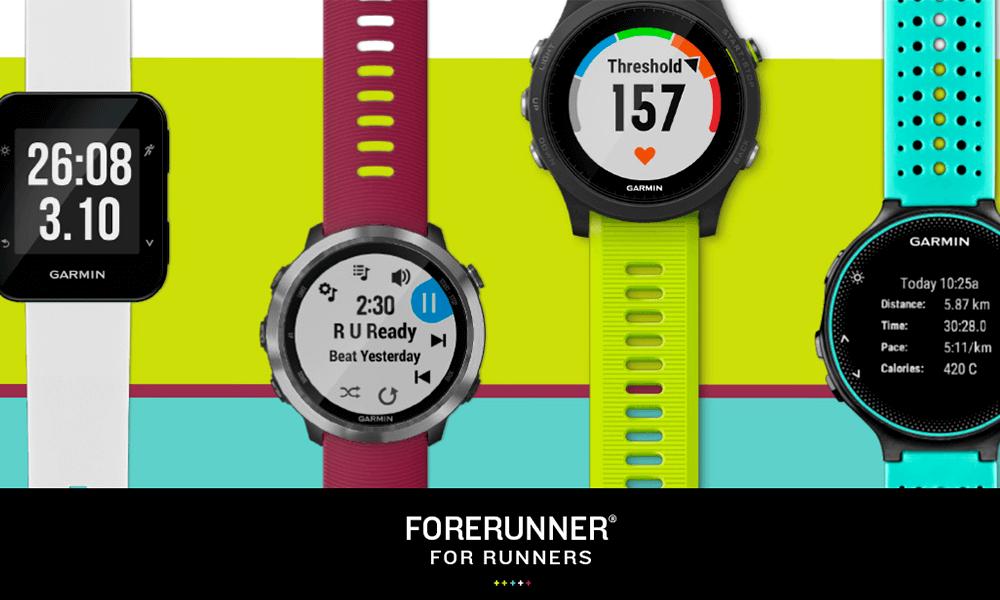 Garmin Forerunner 45, 245 y 945: correr es sólo el principio
