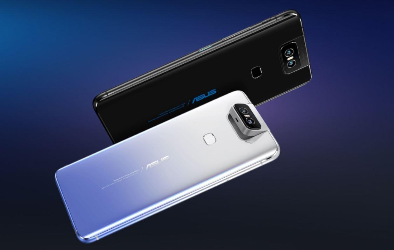La primera cámara plegable en un móvil es de ASUS