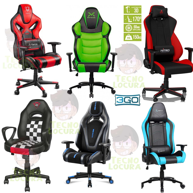 mejor marca de sillas gamer