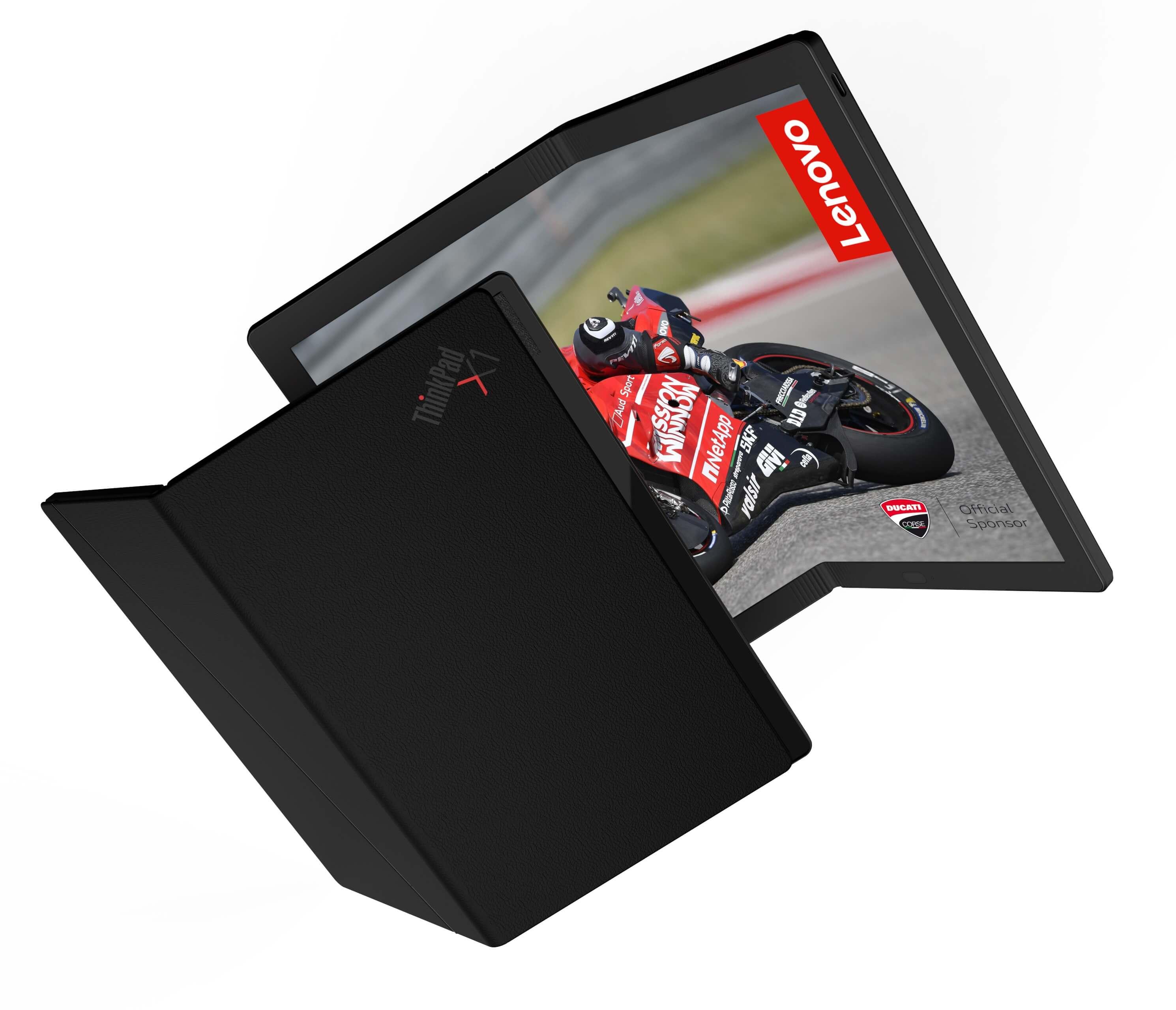 El primer portátil con pantalla flexible del mundo - Lenovo