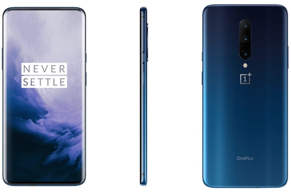 OnePlus 7 Pro Nebula Blue y Mirror Gray