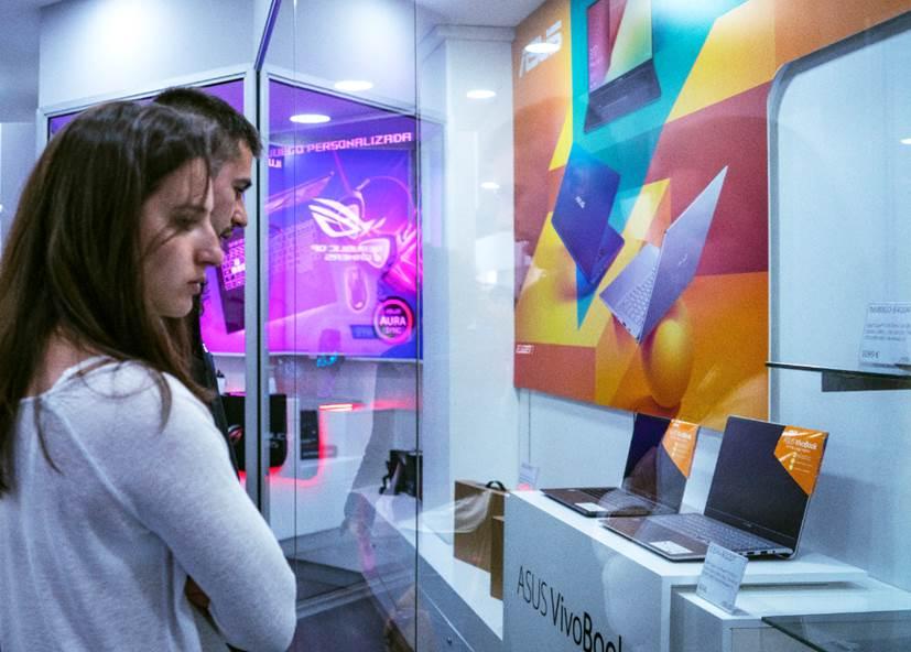 Primera tienda dedicada a productos ASUS abre en España