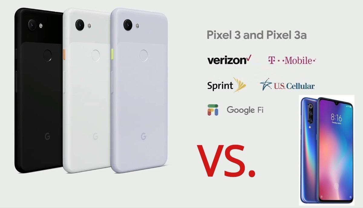 Google Pixel 3a vs Xiaomi Mi 9 SE: La Comparación DEFINITIVA